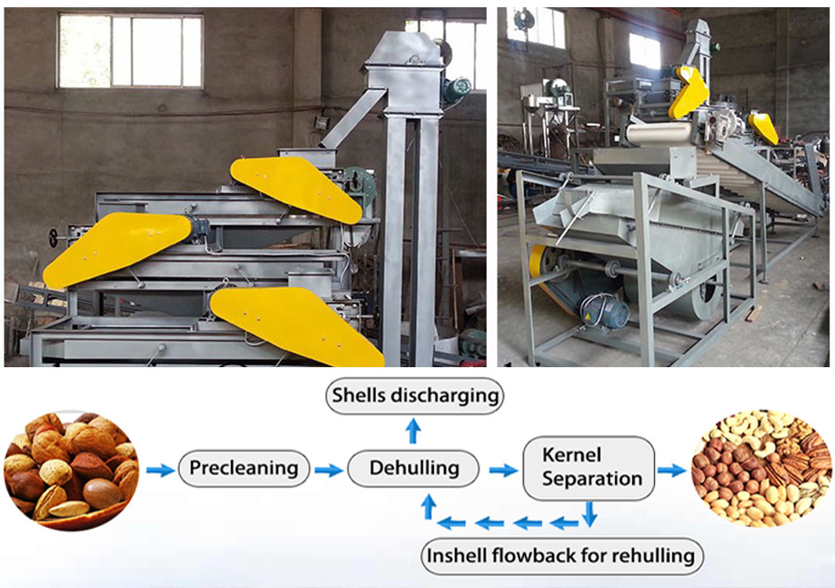 green pea peeler/pea peeling machine/green pea peeling machine