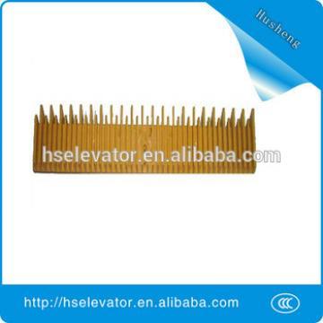 Mitsubishi escalator comb plate, elevator yellow border