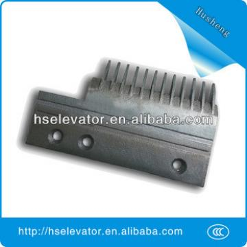 Hyundai escalator comb floor plate, escalator comb plate for Hyundai
