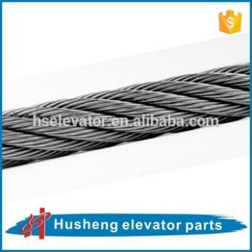 Elevator galvanized steel wire rope Elevator wire rope elevator parts