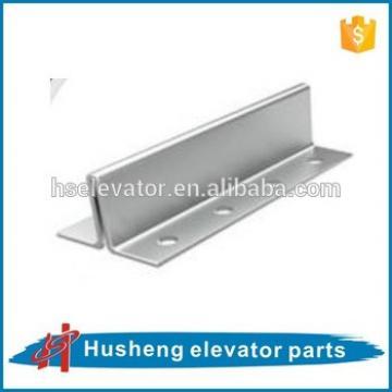 Hollow guide rail, elevator guide rail, elevator guide rail clip