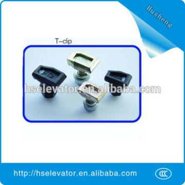 Elevator Parts-T-Type Guide Rail Clip, guide rails for elevators