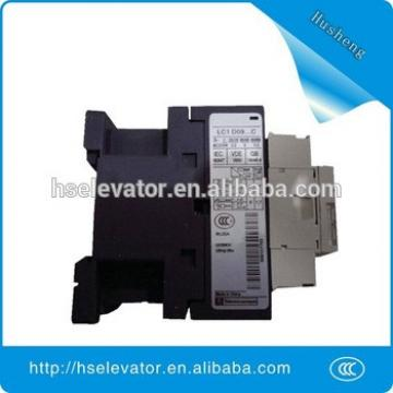 Factory of electrical contactor types LC1D09 F7C elevator contactor