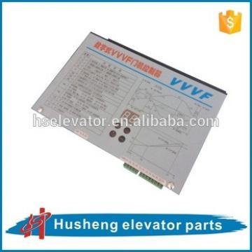 Elevator VVVF controller, elevator control systems, elevator door motor control