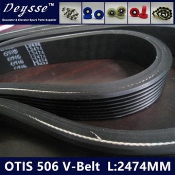 O-T-I-S Escalator 506 drive belt L2474 V-belt High quality