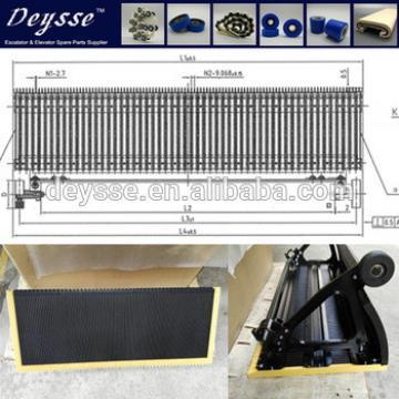 Hyundai Escalator SUS STEP S645A601G01 S645A601G02 S645A601G03 Stainless steel