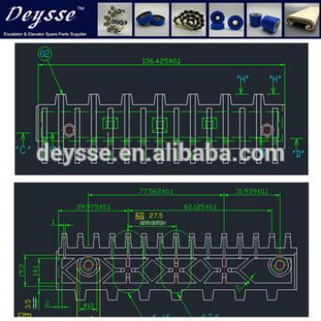 Hyundai Escalator Demarcation Line 645B032H02 C1-AL Step-9.125*14