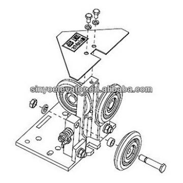 elevator spare parts: Roller Guide KAA456K1,2
