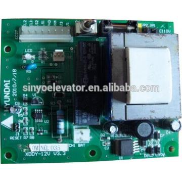 PC Board XDDY-12V V3.3 PCB For HYUNDAI Elevator parts
