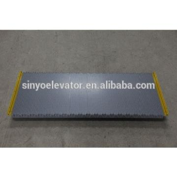 LG-Sigma 1000mm escalator step with yellow border