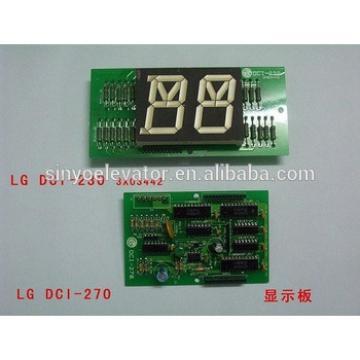 LG-Sigma Elevator Parts:display board DCI-230 DCI-270