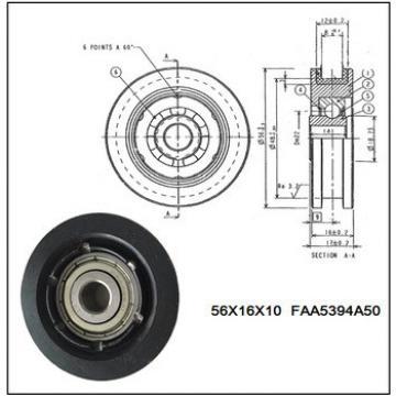 HQ Wheel Series FAA5394A50,Door Hanger Roller For Lift