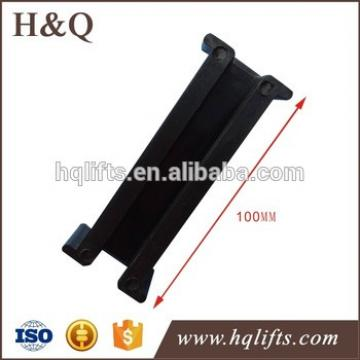 elevator counterweight shoe insert T - 9 mm (T3), L - 100 mm, A - 10 mm TO380Y2