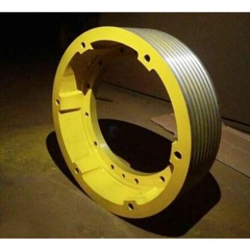 Elevator traction sheave,traction sheave for elevator ,size :400*8*116 ,inner diameter 280