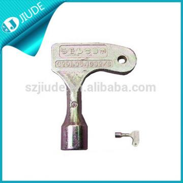 Sliding door key lock