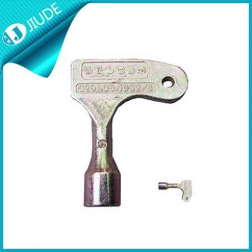 Selcom elevator landing door metal emergency key