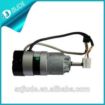 Telescopic middle opening door direct drive dc motor