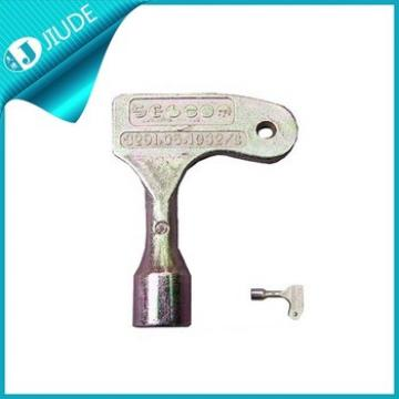 Elevator Parts Triangular Key For Selcom Fermator