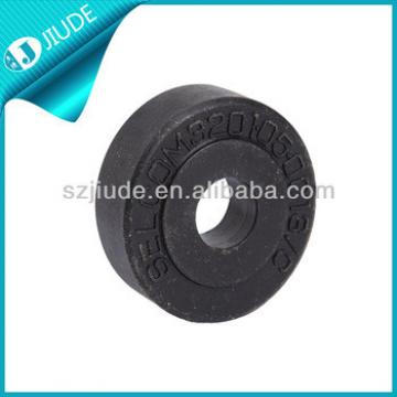 Elevator parts rubber roller