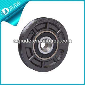 Elevator garage door wheels
