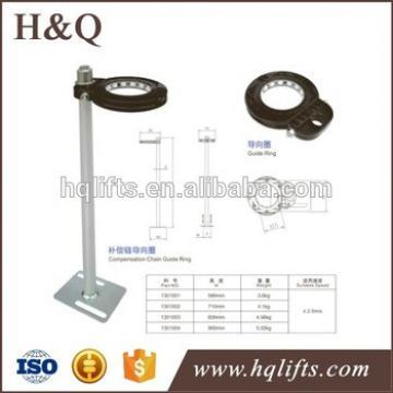 kone elevator compensation chain guide device