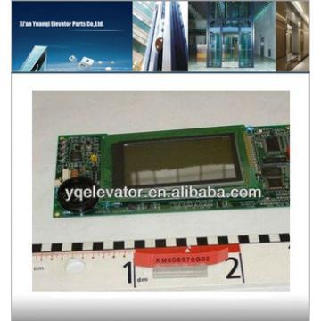 elevator display panel, elevator door panel, elevator operation panel KM806970G02