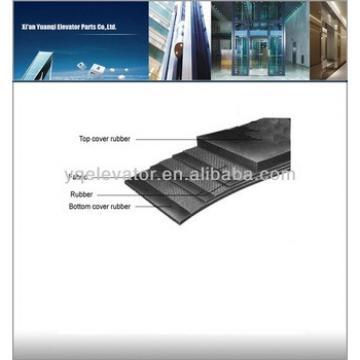 elevator traction belt, rubber elevator belt