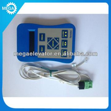 Femator elevator door parts ,service tool for Fermator programming console english