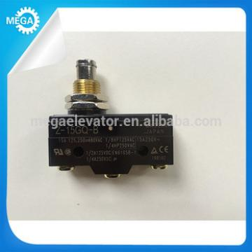 UL approved snap action push button micro switch (Z-15GQ-B and Z-15GW22-B)