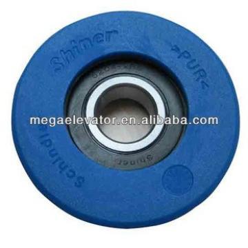 Schindler elevator parts ,Schindler original elevator blue roller ID.NO: 405174(766204 )