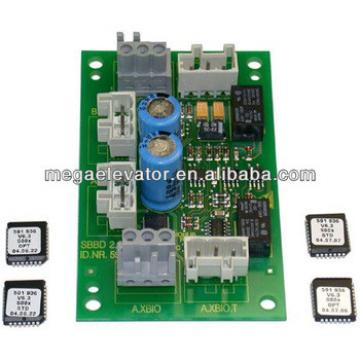 Schindler elevator parts ,Schindler elevator ID. NR.591750 control board PCB SBBD 2.Q Spare part