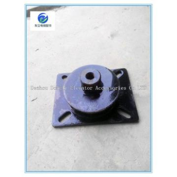 Elevator rubber damping pad