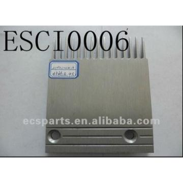 Escalator Spare Hitachi 21502024A Aluminum Comb (Left) Plate