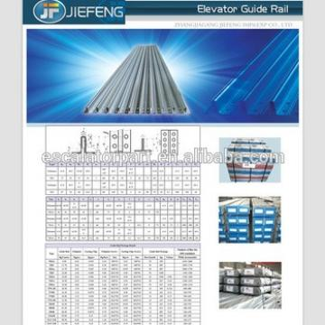 China High Quality T70 T82/B T90/B T50 TK5A Elevator Guide Rail Price Elevator Guide Rail