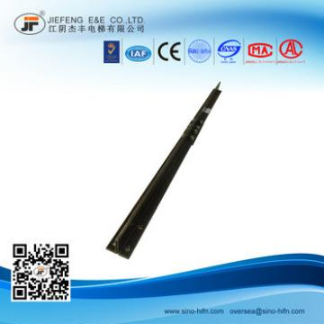 T45A cold drawn elevator guide rail,elevator couterweight guide rail