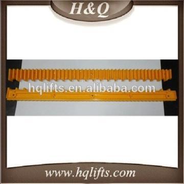 Elevator Yellow Strips Escalator Decoration Strip plastic strips