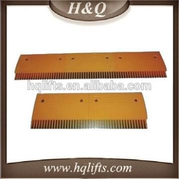 Escalator comb plate escalator comb plate middle Plastic Comb Plate