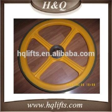 LG Escalator friction wheel 456*35 LG Escalator wheel