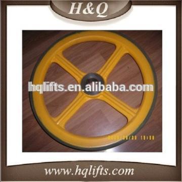 lg elevator wheel 456*35,lg handrail wheel