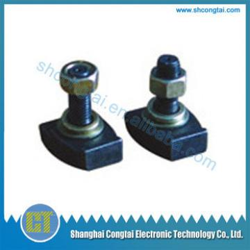 Elevator Parts,Guiding System,Elevator guide rail clip,pressure plate 57009249