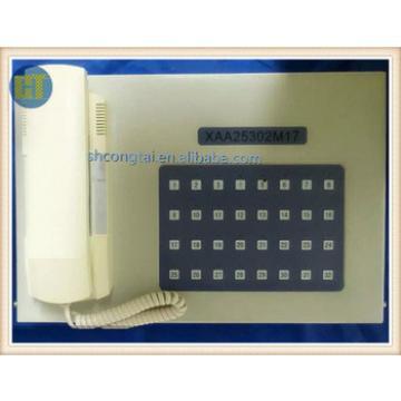 Elevator Intercom System Interphone Host XAA25302M17 in Duty/Monitoring Room