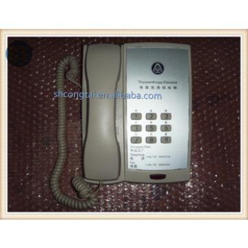 Thyssen Interphone Host Elevator Intercom System in Duty/Monitoring Room
