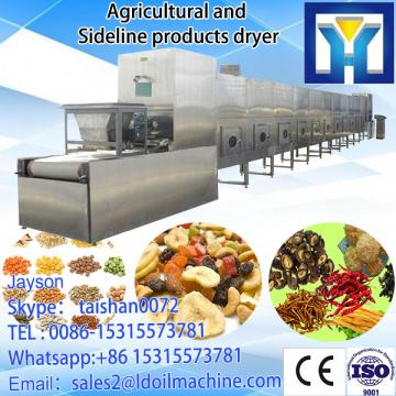 Tunnel continuous conveyor belt type industrial microwave machine for drying purple sweet potato chips