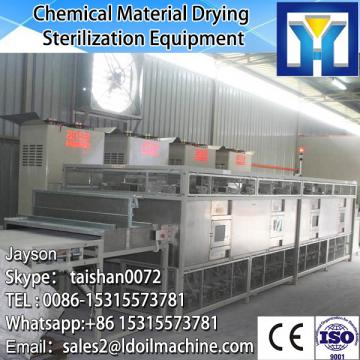 Industrial big capacity tunnel conveyor type microwave leaf drying machine