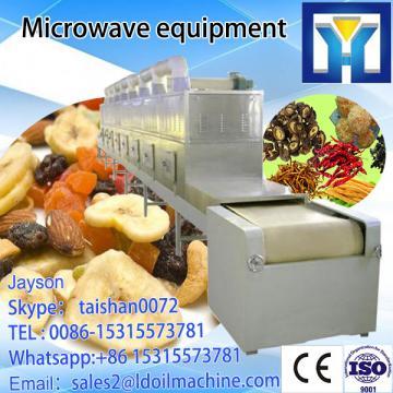 Tea leaf microwave conveyor belt tunnel dryer oven machine