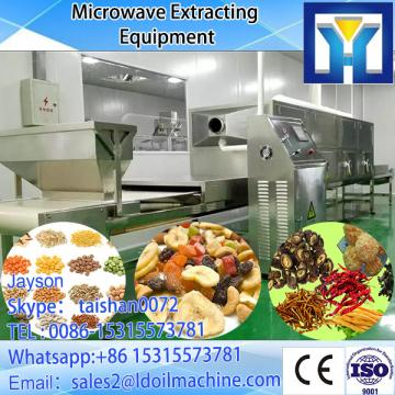 Industrial continuous conveyor belt type microwave pistachio nuts dryer