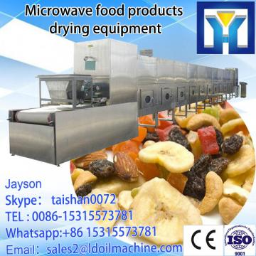 Food grade microwave tea leaves drying and fixation machinery