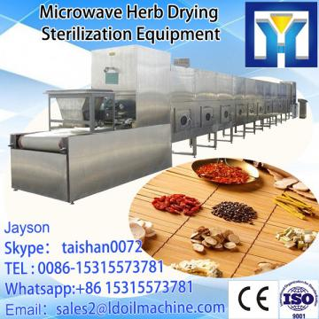 Conveyor belt type microwave dryer and roaster machine for peanut