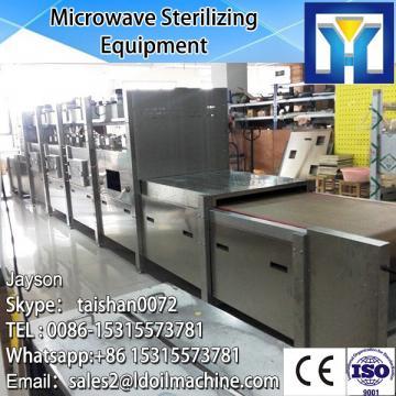 Continuous conveyor belt type microwave cashew dryer