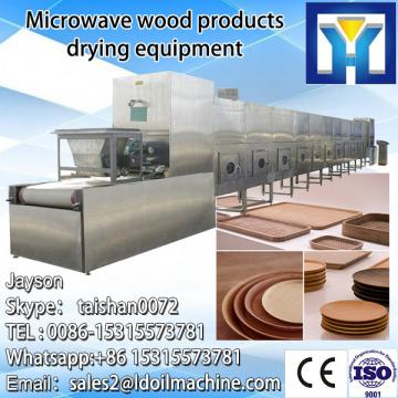 Conveyor potato chips microwave dryer